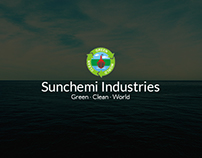 SunChemie Industries Website Interface Design