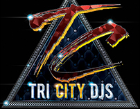 Tri City DJs Logo Design