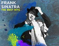 Design vinyl cover Frank Sinatra
