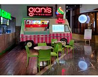 Ice cream van design