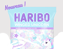 Winged unicorn - HARIBO -