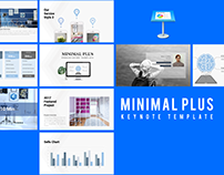 Minimal Plus Keynote Template