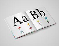 Książka do nauki alfabetu/ /Alphabet book