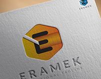 Letter E Logo, Eramek, Logo