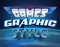 space game graphic style
