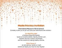 IMAS Invitation Card - 2016