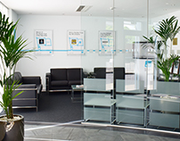 B&CE | Reception Design & Refurbishment | Crawley