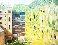 FACADE DESIGN - Architectural competition 2012