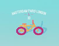 Amsterdam.Paris.London & 3D