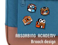 Absorbing Academy Brooch