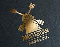 Amsterdam Burgers & Beers Branding