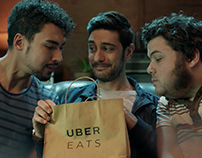 "UBER Eats - ""That EATS Feeling"" Integrated Campaign"
