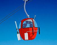 Grand Massif Ski Poster
