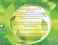 Green Gala Invitation