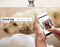 Grand Dog--- An app for senior dog owners