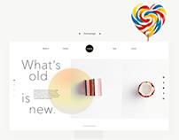 Candy Shop Web Design