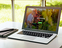 Babilonia Garden Service Web page design