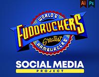 Fuddruckers Social media Project