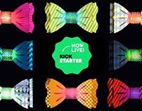 DIY Light-Up Paper Bow-Tie Kits now LIVE on Kickstarter