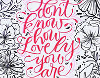 NBS Love Calligraphy 2017 Mural