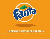 """Rediseño web """"Fanta"""""""