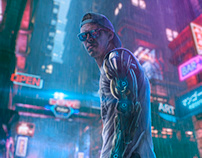 Cyber boy