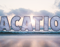 VACATION Title Graphic