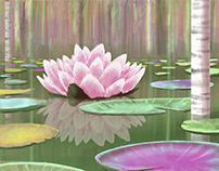 Fresco Paint: Water Lilly