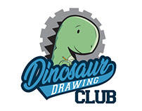 "LOGO/BRANDING - ""DINOSAUR DRAWING CLUB"""