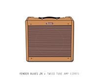 Fender Blues Jr • Tweed Tube Amp (1997)