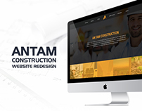 AnTam Construction Website Redesign
