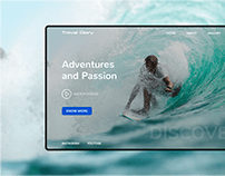 Adventures and Passion - Banner Inspiration