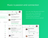 Spotify Redesign — UX/UI