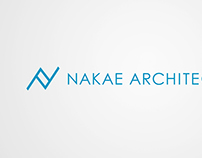 Logotype for NAKAE ARCHITECTS INC.