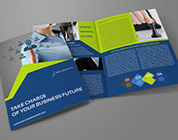 Company Brochure Bi-Fold Template Vol.40