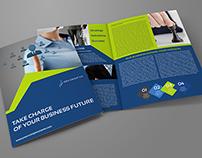 Company Brochure Bi-Fold Template Vol.40