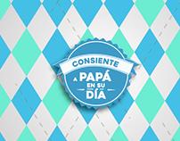 Campaña Redes Sociales 2017 - Día del padre