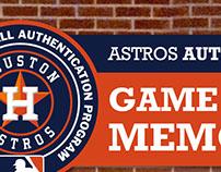 Astros Authentics