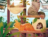 Cat Tree Paradise