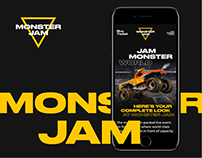MonsterJam — Website Project '20