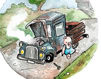 Piggy: Child book image test