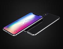 iPhone X Realistic Mock-Ups