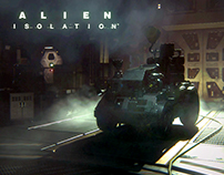 Alien Isolation Environment Art
