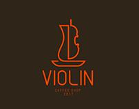 Violin Cafe - Brand Identity