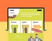 Raw-Live. E-commerce website
