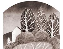 Perdido - La Tundra- Lápiz
