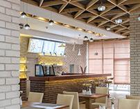 The TRIO Pizzeria Interior Design by AddLine group
