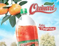 Refrigerantes Quinari Cartaz A3