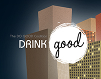 Drink GOOD - Do GOOD Coalition Site Redesign