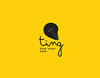 Ting Communications/Re-branding exercise/3 identities